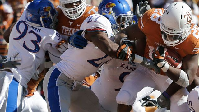 Kansas vs. Texas  - 11/2/2013