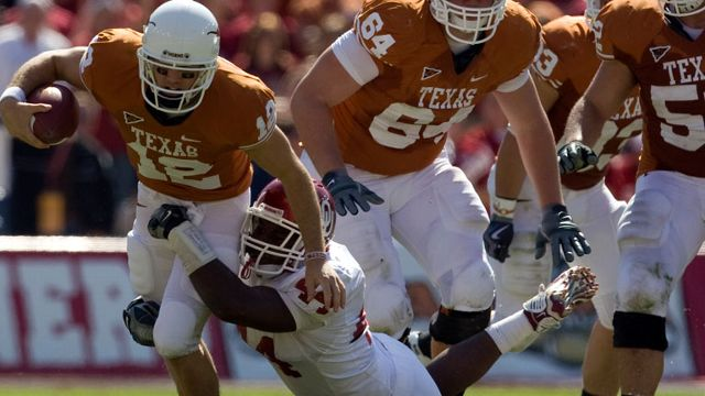 Oklahoma Sooners vs. Texas Longhorns - 10/17/2009