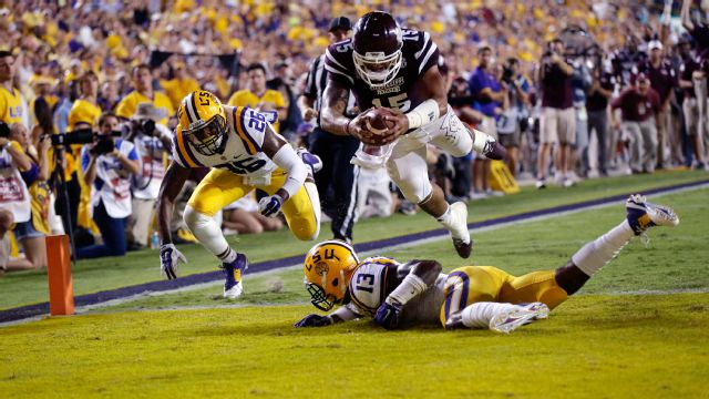 Mississippi State vs. LSU - 9/20/2014 (re-air)