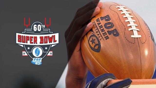 North Philadelphia Aztecs (PA) vs. West Bay Rams (IL) (Quarterfinal) (D1 Jr. Pee Wee Super Bowl)