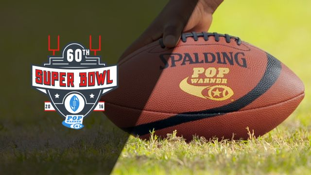 Gilroy Browns (CA) vs. Patriots Youth Football (IL) (Quarterfinal) (DI Pee Wee Super Bowl)
