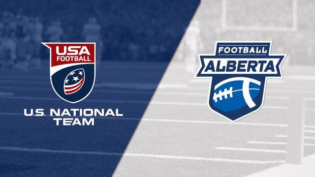 U.S. Under-16 Select vs. Team Alberta (Youth Football)