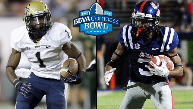 Pittsburgh vs. Mississippi: 2013 BBVA Compass Bowl