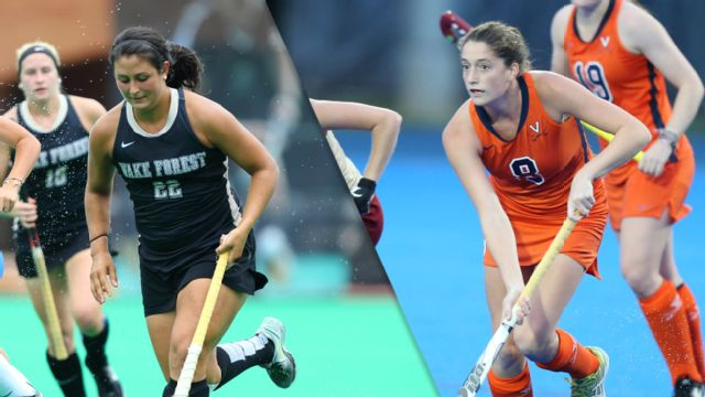 Wake Forest vs. Virginia (Semifinal) (ACC Field Hockey)