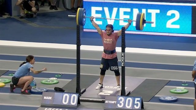 CrossFit Games: Overhead Squat