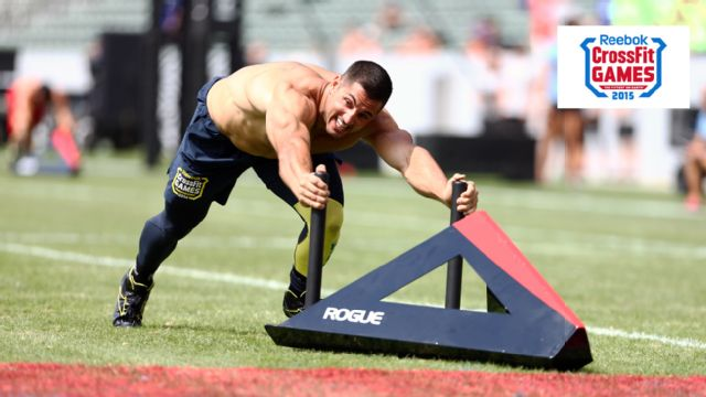 2015 Reebok CrossFit Games (Male Competition, Events 11 and 12)