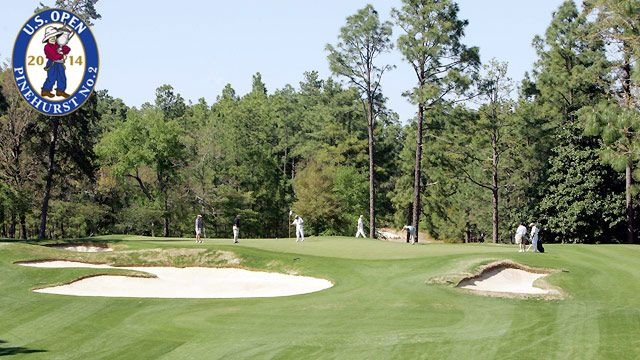 U.S. Open Golf Championship (Holes 9 & 18) (Second Round)