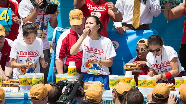 2014 Nathan's Famous Hot Dog Eating Contest - Women's Championship