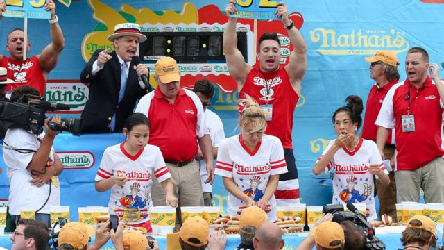 2015 Women's Nathan's Famous Hot Dog Eating Contest