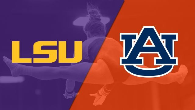 LSU vs. Auburn (W Gymnastics) (re-air)