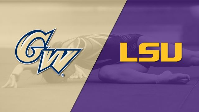 George Washington vs. LSU (W Gymnastics)