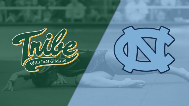 William & Mary vs. North Carolina (W Gymnastics)