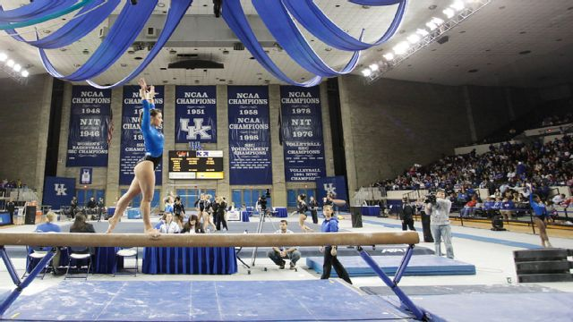 #9 Auburn vs. #22 Kentucky (W Gymnastics)