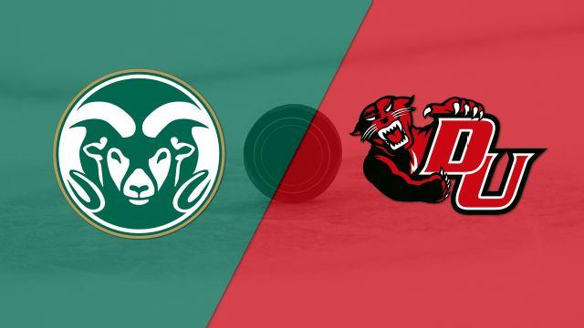 Colorado State University vs. Davenport (M Hockey)