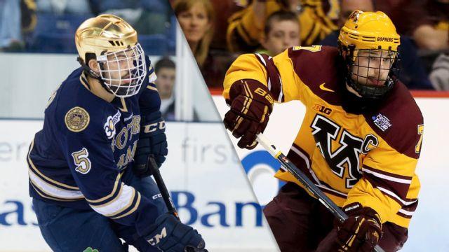 #14 Notre Dame vs. #1 Minnesota (M Hockey)