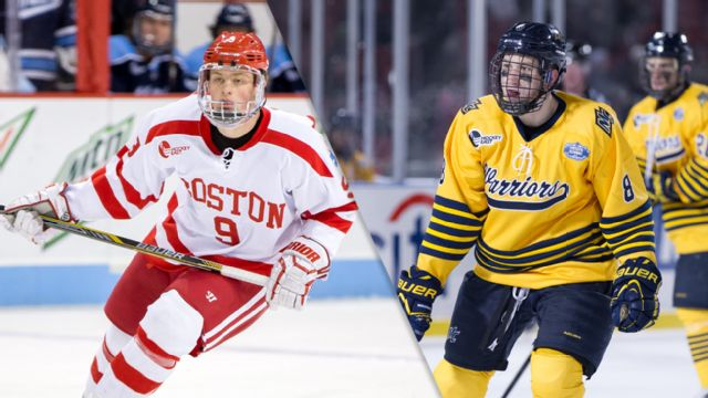 Boston University vs. Merrimack (M Hockey)