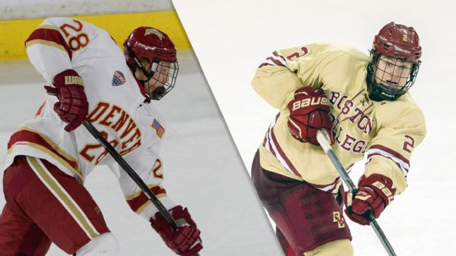 #2 Denver vs. #3 Boston College (East Regional Semifinal #1) (NCAA Men's Ice Hockey Championship)