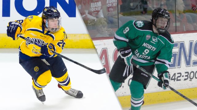 #4 Quinnipiac vs. #1 North Dakota (West Regional Semifinal #2) (NCAA Men's Ice Hockey Championship)
