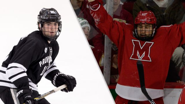 #4 Providence vs. #1 Miami (Ohio) (East Regional Semifinal #2) (NCAA Men's Ice Hockey Championship)