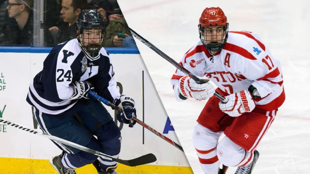 #4 Yale vs. #1 Boston University (Northeast Regional Semifinal #1) (NCAA Men's Ice Hockey Championship)