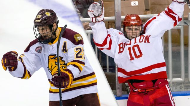 #2 Minnesota-Duluth vs. #1 Boston University (Northeast Regional Final) (NCAA Men's Ice Hockey Championship)