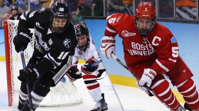 Providence vs. #3 Boston University (Championship) (NCAA Men's Ice Hockey Championship)