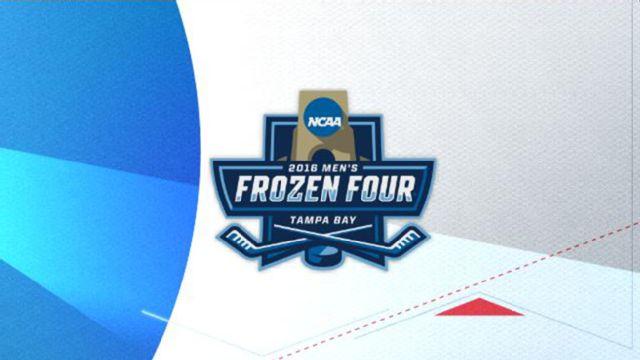 2016 NCAA Hockey Championship Trophy Presentation
