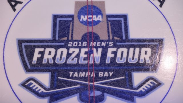 Ice Level View - #1 North Dakota vs. #1 Quinnipiac (Championship) (NCAA Men's Hockey Championship)