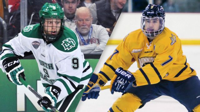 North Dakota vs. Quinnipiac (Championship) (M Hockey) (re-air)