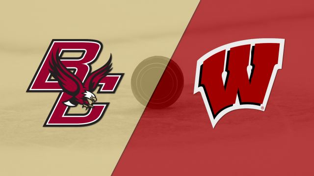 #9 Boston College vs. Wisconsin (M Hockey)