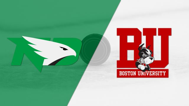 #3 North Dakota vs. #2 Boston University (West Regional Semifinal #1) (NCAA Men's Hockey Championship)