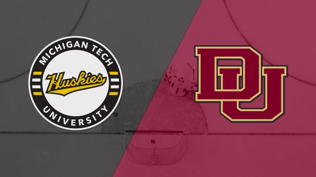 #4 Michigan Tech vs. #1 Denver (Midwest Regional Semifinal #1) (NCAA Men's Hockey Championship)