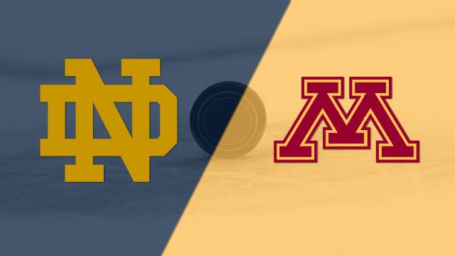 #4 Notre Dame vs. #1 Minnesota (Northeast Regional Semifinal #1) (NCAA Men's Hockey Championship)