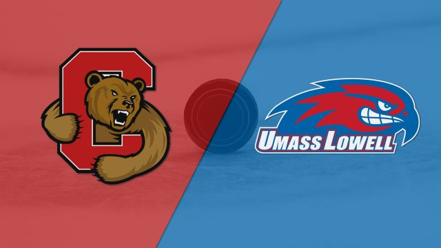 #3 Cornell vs. #2 Massachusetts Lowell (Northeast Regional Semifinal #1) (NCAA Men's Hockey Championship)