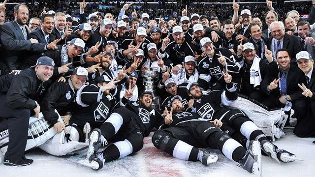 2014 Stanley Cup Champions Los Angeles Kings Parade