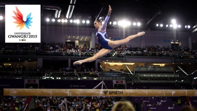 World University Games: Gymnastics (Finals)