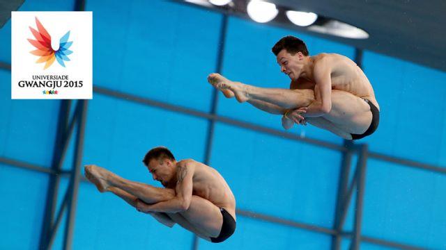 World University Games: Team Diving
