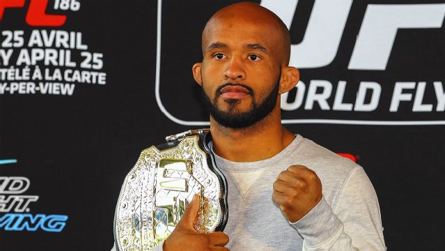 UFC 191 Official Weigh-In - Demetrious Johnson vs. John Dodson
