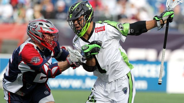 Boston Cannons vs. New York Lizards