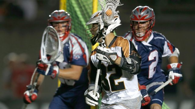 Rochester Rattlers vs. Boston Cannons
