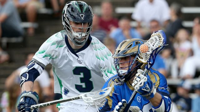 Charlotte Hounds vs. Chesapeake Bayhawks