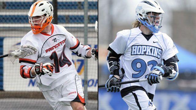 #12 Princeton vs. #3 Johns Hopkins