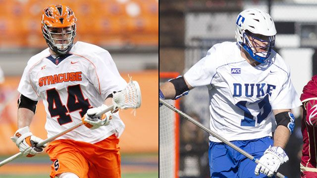#4 Syracuse vs. #2 Duke (Semifinal #1)