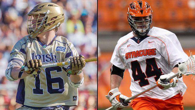 #9 Notre Dame vs. #4 Syracuse (Championship)