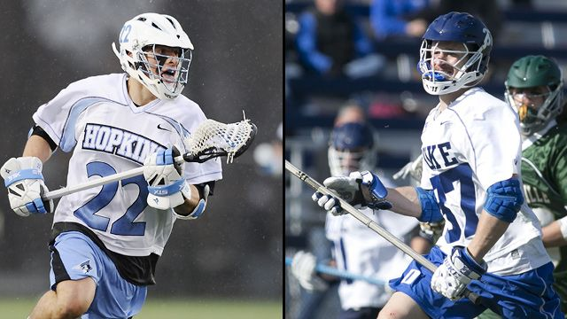 Johns Hopkins vs. #1 Duke (Quarterfinal #3)