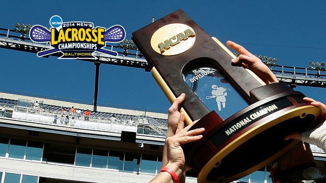NCAA Men's Lacrosse Championship Trophy Presentation