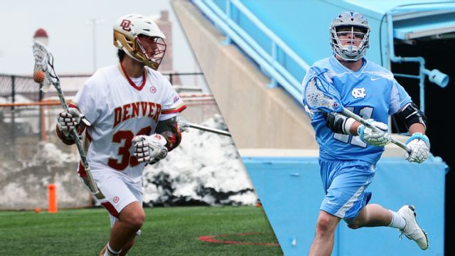 #1 Denver vs. #4 North Carolina (M Lacrosse)