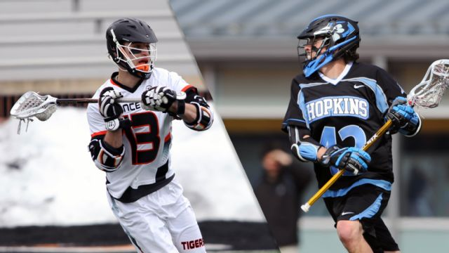 #18 Princeton vs. #12 Johns Hopkins (M Lacrosse)