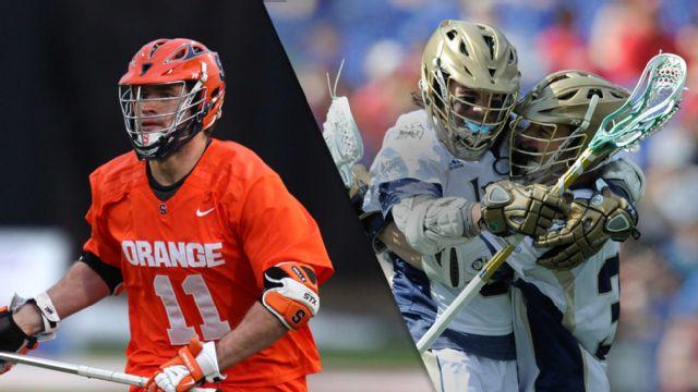 #1 Syracuse vs. #2 Notre Dame (M Lacrosse)