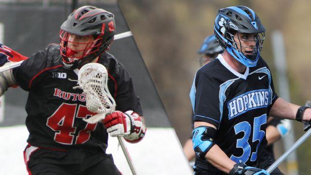Rutgers vs. #20 Johns Hopkins (M Lacrosse)